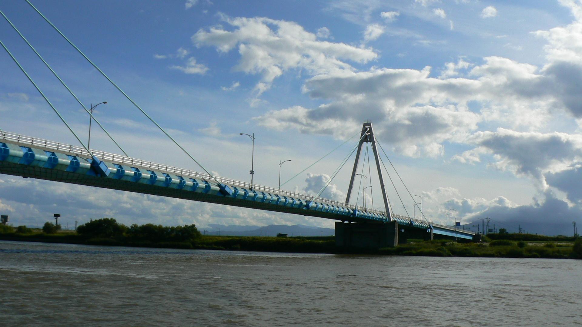 国道231号線の橋梁